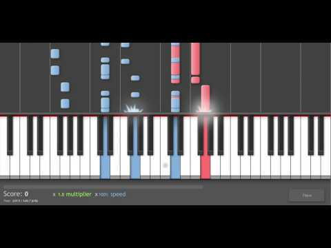 Piano Tutorial: Muse - Uprising