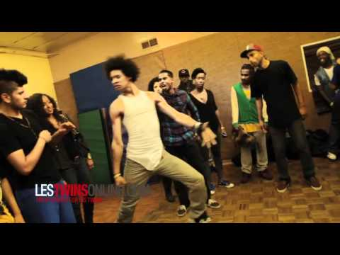 LesTwins North Hollywood jam (Day before DWTS) [ LesTwinsOnline.com ]