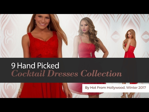9 Hand Picked Cocktail Dresses Collection By Hot From Hollywood, Winter 2017