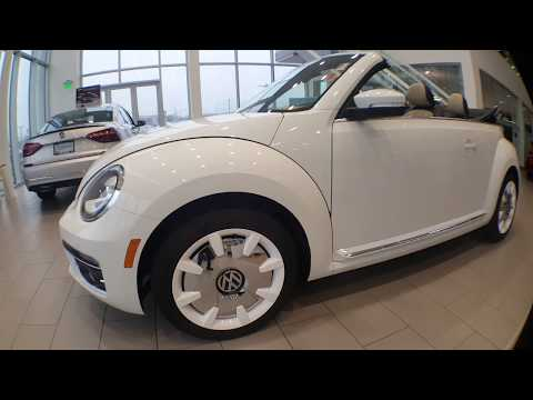 2019 VW Beetle Final Edition Convertible SEL!