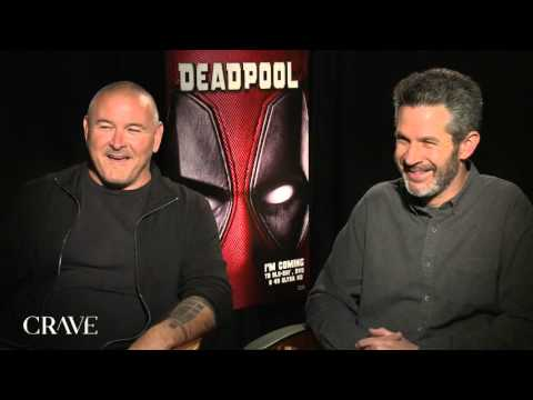 DEADPOOL  Director Tim Miller and Producer Simon Kinberg Exclusive