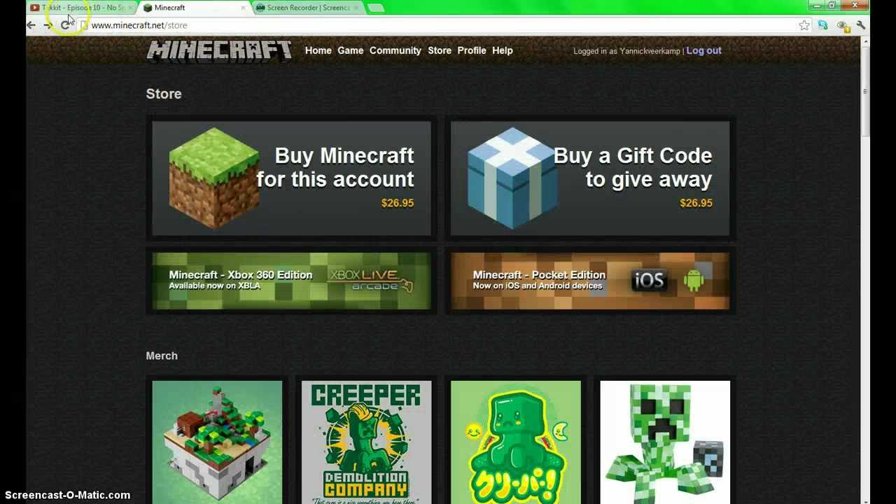 how to create a free minecraft account