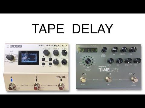 Boss DD500 vs Strymon Timeline Tape Setting STEREO