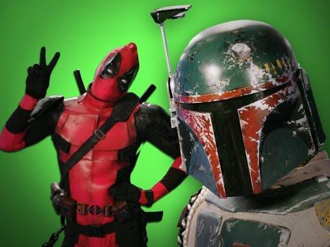 Deadpool vs Boba Fett. Behind the Scenes of Epic Rap Battles of History
