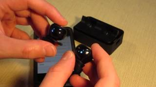 Syllable D900 Wireless Bluetooth Earbuds Review and Setup Instructions