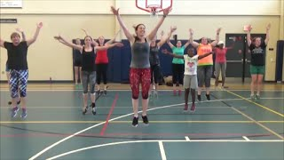 Pitbull Remix / Warm Up routine for dance fitness by Jilly Zumba