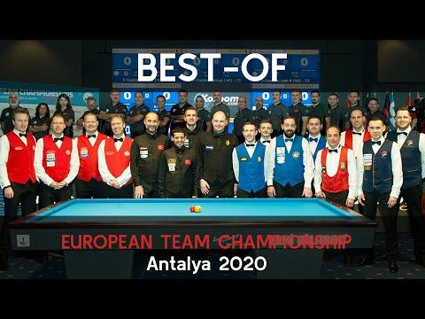 2020 3-Cushion European Team Championship Best Of