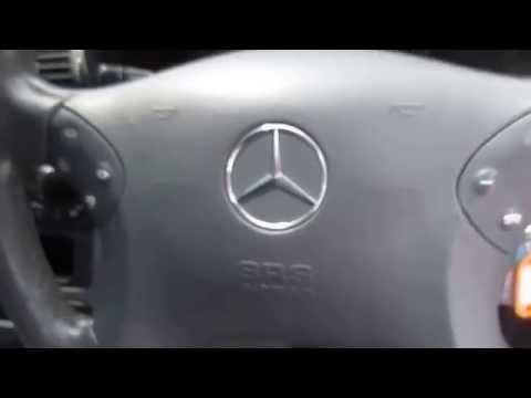 รถเก๋งมือสอง รถราคาถูก Mercedes Benz เมอร์เซเดส-เบนซ์ C200 Kompressor บรอนด์เงิน ปี 2004 #UC37
