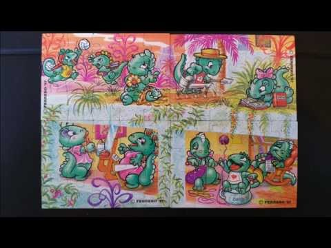 Die Dapsy Dino Family 1997 Puzzle