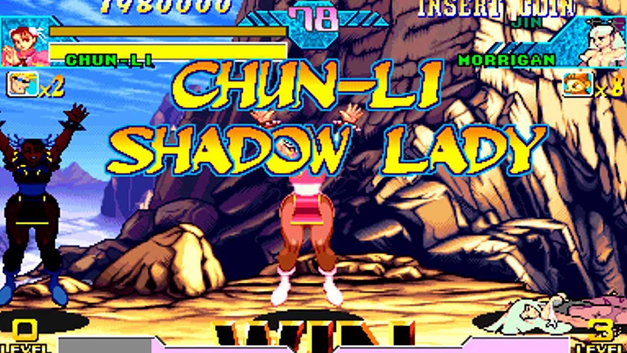 Marvel vs Capcom - Shadow Lady...