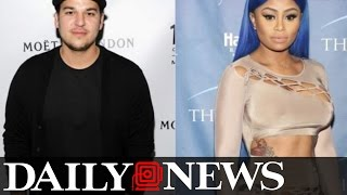 Rob Kardashian Staying at New Girlfriend Blac Chyna's House as Family Worries She's Using Him