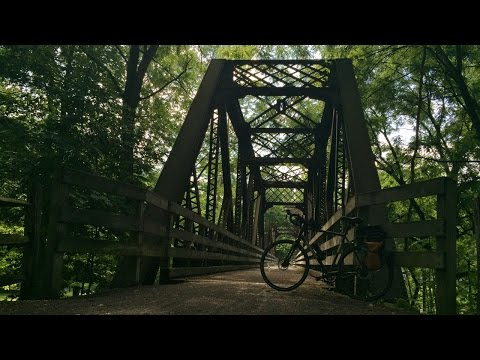 Pine Creek Rail Trail: Part 1 - Cammal to Jersey Shore