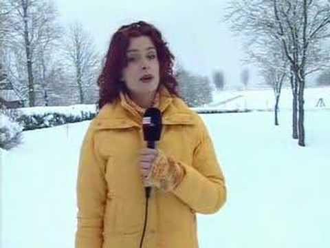 Sneeuw in Friesland (2-3-2005) Deel 1