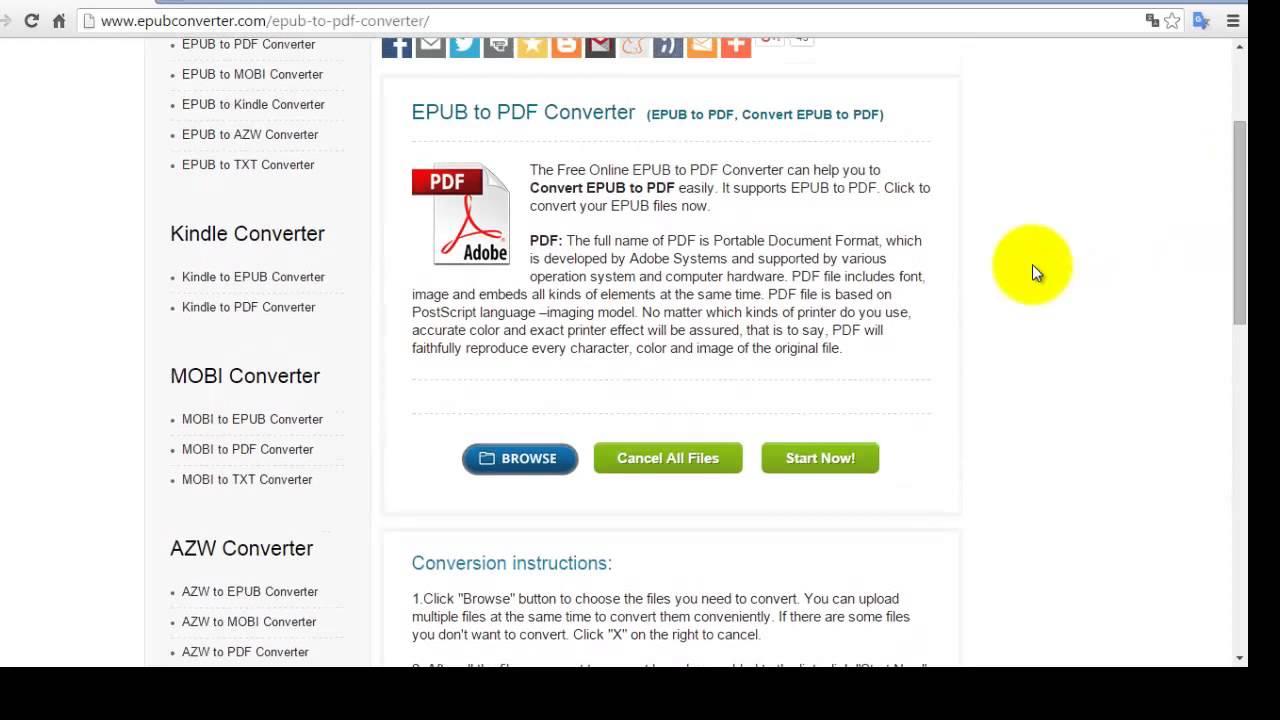 Como Convertir Archivos Epub A Pdf - YouTube @tataya.com.mx