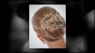 The beautiful hair combs for a beautiful Bride Thumbnail