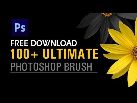 100 + Photoshop Brush Download || Shashi Rahi || Photoshop Tutorial
