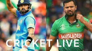 India vs Bangladesh #INDvBAN | CRICKET LIVE  | DD Sports-ICC Cricket World Cup 2019