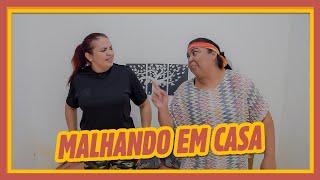 TREINO EM CASA!