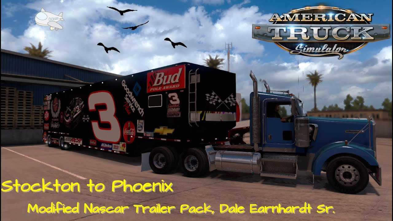 American Truck Simulator W900 Stockton To Phoenix