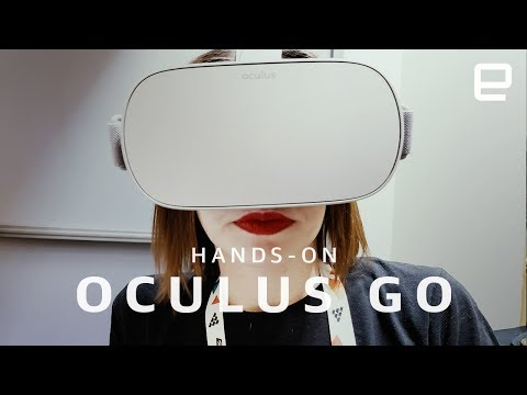 Oculus Go hands-on at GDC 2018