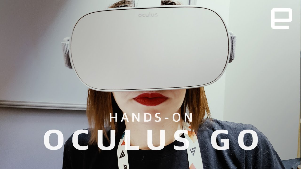 d899f361104 Oculus Go hands-on at GDC 2018 - YouTube