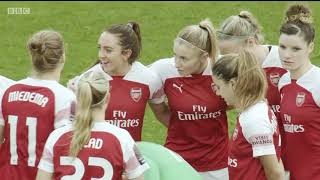 WSL - Manchester City v Arsenal (02.12.2018)