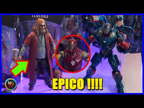 Thor GORDO y el Mark 85 version Marvel Legends y la tercera oleada de Avengers Endgame