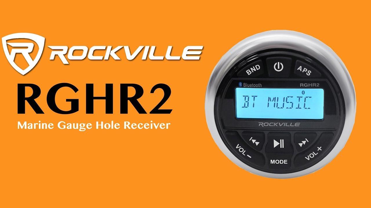 LOUDEST GAUGE HOLE Receiver Ever - ROCKVILLE RGHR2 - YouTube