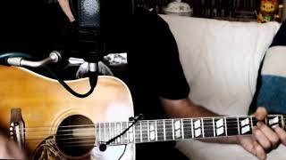 Dandelion ~ The Rolling Stones ~ Acoustic Cover w/ Gibson Hummingbird 1964 & Eggshaker