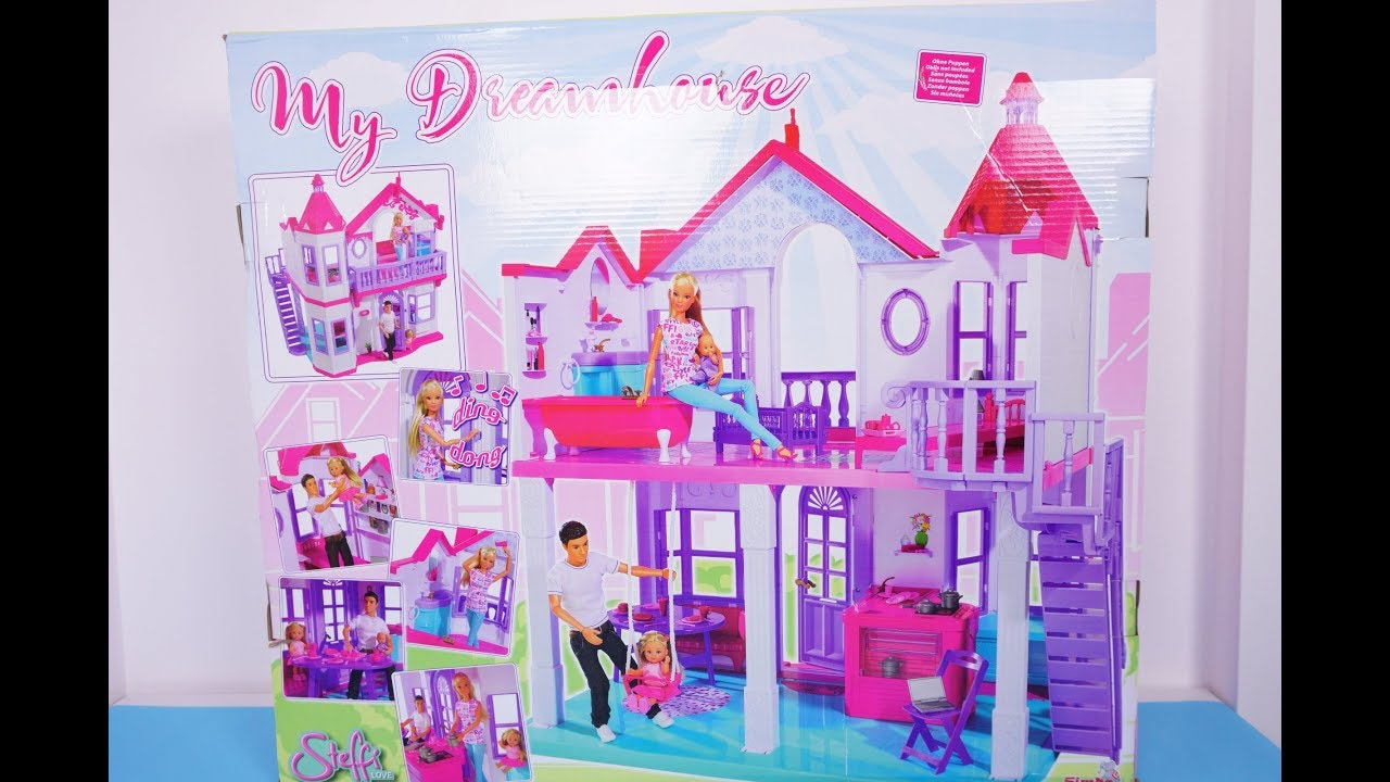 Barbie Dollhouse Toys Opening