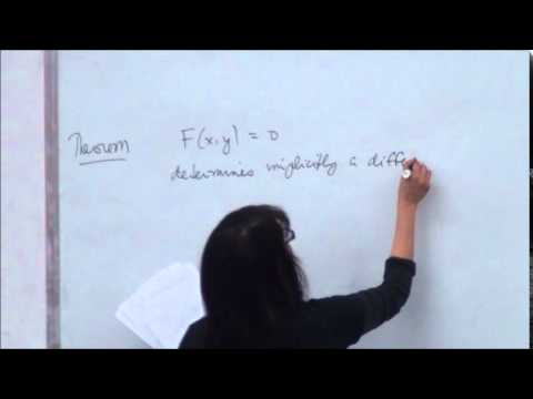 Implicit Differentiation Using Partial Derivatives