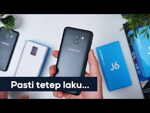 Rp3.299 Juta... Unboxing Samsung Galaxy J6...