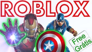 FREE AVENGERS ITEMS FOR FREE AT ROBLOX AVENGERS