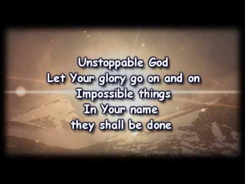 Unstoppable God - Elevation Worship - Worship video  with Lyrics