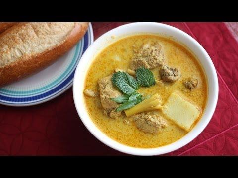 Ca Ri Ga (Vietnamese Chicken Curry with Bread or Noodles) Cari Ga Bun/Banh Mi