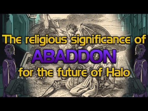 The religious significance of Abaddon on the future of Halo