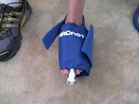 Aircast Foot Cryo Cuff Video Description Dme Direct Youtube