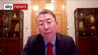 Chinese Minister on COVID-19: 'You can't blame China'