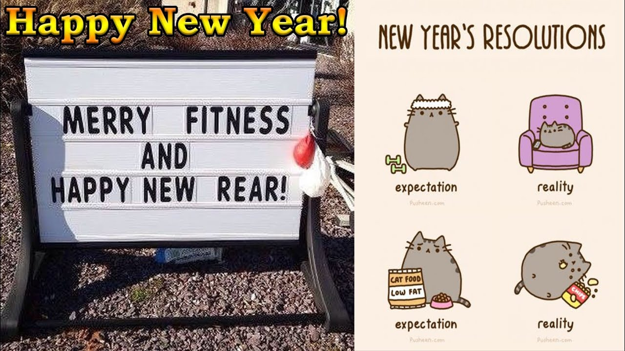 Funniest New Years Resolutions For 2018! (Happy New Years From Viral  Trends!)