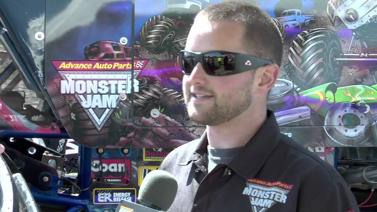 Monster jam world finals 2013 interview with son uva digger driver ryan anderson