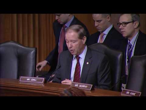 Tom Urges Senate to Reject Nomination of Friedman for Ambassador to Israel