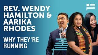 Rev. Wendy Hamilton & Aarika Rhodes: Why they're running for Congress | Andrew Yang | Yang Speaks