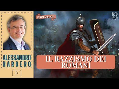 Il Razzismo dei Romani - Alessandro Barbero (2020)