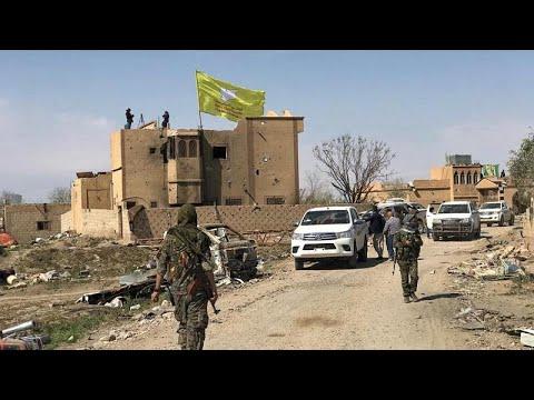 قوات سوريا الديمقراطية تعلن هزيمة -داعش- وزوال -الخلافة-…  - نشر قبل 3 ساعة