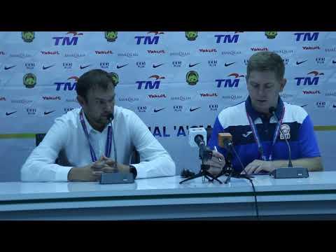 AFF2018: Post Match MAS vs KYRGYZ   - Alexander Krestinin