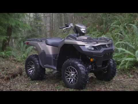 the new 2019 suzuki kingquad 750 500 youtube. Black Bedroom Furniture Sets. Home Design Ideas