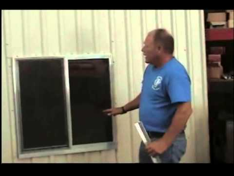 Window Installation Tips Mueller Metal Buildings Youtube