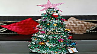 Christmas tree decorations | Christmas tree making | Christmas tree project | Archana Rathod |