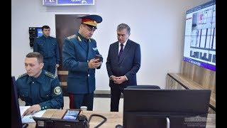 Визит Президента в отдел внутренних дел №7 Юнусабадского района города Ташкента