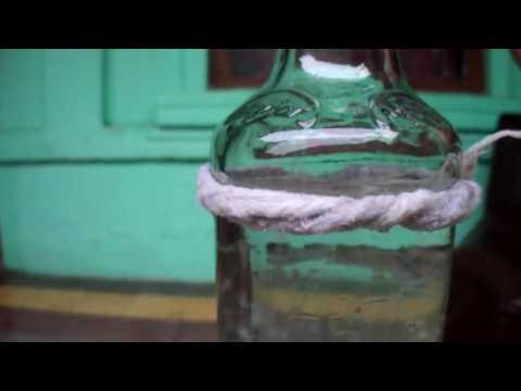 Memotong Botol Kaca Menjadi Gelas